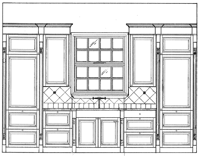 Kitchen Cabinets Elevations kitchen and bath concepts - our process